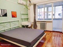 北京通州土桥土桥地铁 华远好天地对面 三家合租 精装带阳台卧室出租房源真实图片