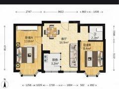 北京大兴亦庄天宝家园 2室1厅1卫出租房源真实图片