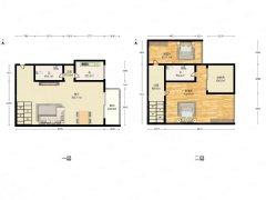 北京东城天坛金鱼池(东区) 3室2厅2卫出租房源真实图片