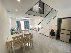 佛山南海金沙洲万达星港城家私家电齐全随时看房给您一个温馨的家出租房源真实图片