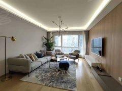 北京朝阳朝外大街(私享花园)本周直租,大片绿化,现代简约设计,全新家私出租房源真实图片