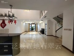 北京昌平北七家温哥华纯地上 联排别墅  园区中间位置  空房精装出租房源真实图片
