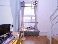 北京顺义石门柚米公寓直租,温馨舒适一居室,免费宽带,超大公区,离地铁近出租房源真实图片