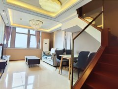 北京大兴大兴周边恒大未来城 3室2厅3卫 坐在客厅可观看整个滨河公园出租房源真实图片