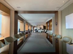 北京朝阳建外大街银泰柏悦府半层出租,875平,东西北270度观景国贸出租房源真实图片
