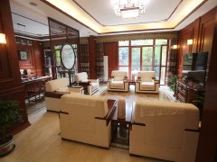 北京海淀万柳万柳 万城华府  花园别墅 三层复式 与地下室打通 带车位出租房源真实图片