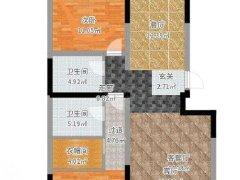 北京大兴生物医药基地华远和煦里 3室2厅2卫出租房源真实图片
