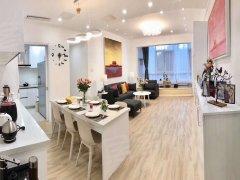 北京朝阳来广营香江花园新出精装大两居,家具齐全,现代风格白色系。出租房源真实图片
