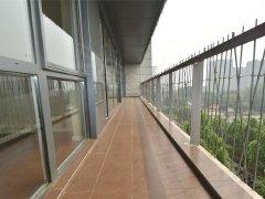 北京朝阳酒仙桥12米长阳台 安徒生花园 南北通透 空房 三居室出租房源真实图片