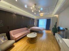 北京朝阳豆各庄手次出租 北欧简约小清新风格恒大领寓大开间。出租房源真实图片