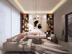 北京顺义天竺电梯别墅,现代奢华风格,潮流时尚主儿选择这套出租房源真实图片