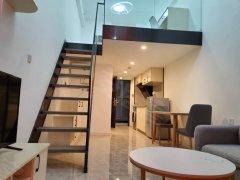 佛山南海金融高新区万科A32 精装复式 全新出租 高层无遮挡出租房源真实图片