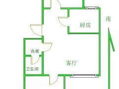 北京延庆康庄兴隆南街1号院 2室1厅1卫出租房源真实图片