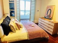 北京朝阳CBD与央视相邻  首创禧瑞都精装一居室21000  直租出租房源真实图片