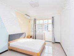 北京石景山苹果园杨庄地铁 苹果园二区两居室 免费WIFI出租房源真实图片