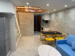 佛山南海金沙洲万达星港城  网红复式公寓两房 拎包入住 随时看房出租房源真实图片