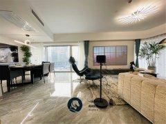 北京朝阳建外大街财富好房,全新配置,高端设计,轻奢进口家私出租房源真实图片