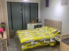 北京石景山苹果园公寓整租开间  独立卫浴 可月付 全新家电出租房源真实图片