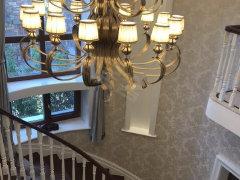 北京昌平小汤山北御汤山东区A户型精装独栋 旋转楼梯出租房源真实图片