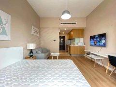 北京通州北关世界侨商中心公寓精装修房1室,采光好,低价出租出租房源真实图片