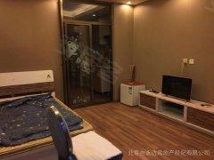 北京密云密云城区财智中心电梯房 一室一厅一卫 精装修 看房方便 随时入住出租房源真实图片