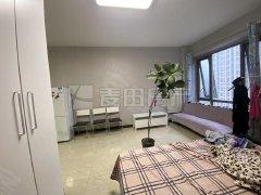 北京朝阳北苑(华贸城,下楼就是地铁)精装开间。品质租房生活,家具齐商业全出租房源真实图片