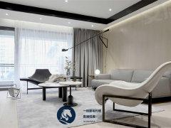 北京朝阳朝外大街极简式风格,清新淡雅的设计,国贸CBD两居室对外出租出租房源真实图片