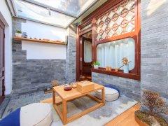 北京西城什刹海后海 银锭桥胡同 鼓楼西大街前海 人才公寓 共三间什刹海地铁出租房源真实图片