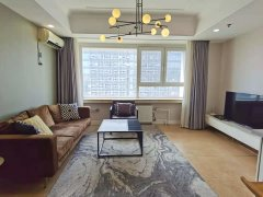北京朝阳三里屯工体首开幸福广场 高层南向一居室 全新装修随时看房出租房源真实图片