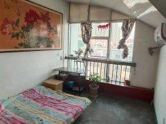 青岛黄岛辛安芙蓉苑阁楼套二,900一月。随时看房出租房源真实图片