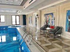 北京朝阳CBD国贸豪 山水铂宫 顶层别墅 带大泳池 45万月出租房源真实图片