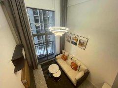 佛山南海金融高新区万科A32 年青人聚集地 全新复式公寓出租 宜家风格家私家电出租房源真实图片