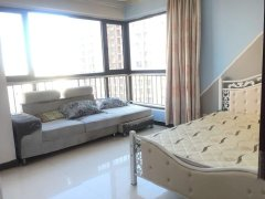 十四号线 将台路地铁站 颐堤港中心附近将府锦苑 精装主卧室