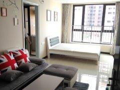 江畔豪庭精装一房一厅,江景小区,只租1000