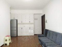 恒基凯旋门 正规一室一厅 时尚装修 白色风格 拎包入住