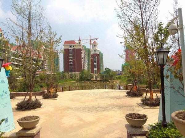 新华联青年城户型图实景图片