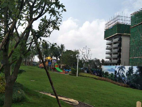 金地海南自在城户型图实景图片