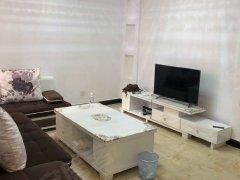 强舜铭城精装两居室,全新家具家电,拎包入住。
