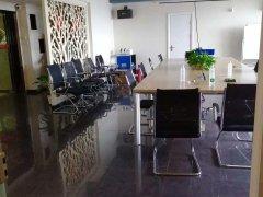 国贸高档小区 椰岛广场 出租办公 高档装修 带办公家具