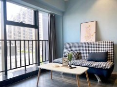 整租一室大標間,月租1600看房隨時,燕莊民航路地鐵口曼哈頓