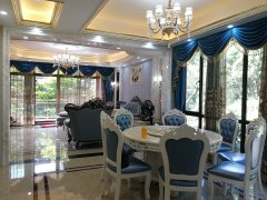 东港城豪装别墅,业主因出国初次出租,找个爱干净爱家的客户。