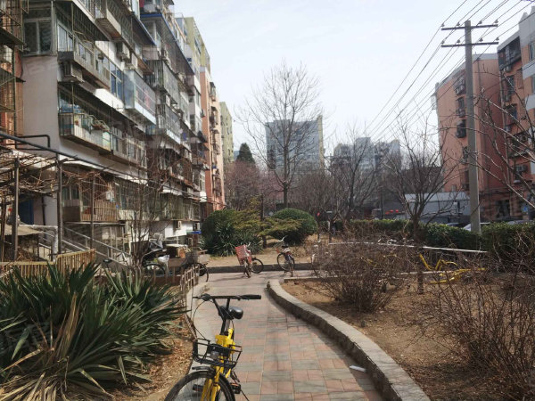 四平园小区户型图实景图片