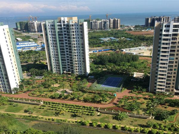 兆南丽湾户型图实景图片