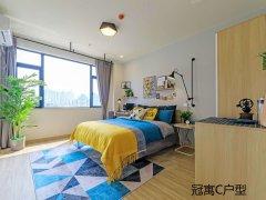 龙湖冠寓 2号线 可短租 免物业超大公区免费健身房