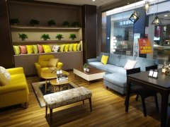 中央新天地精装一室一厅出租,家具家电齐全带阳台。