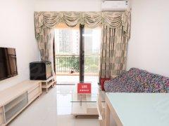 竹子林近地铁热租公寓 精装一室一厅 海景 家电全齐可看房