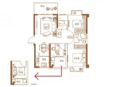 精装海景3房,配置齐全,拎包入住