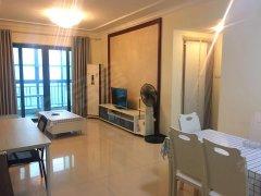 可短租三个月,恒大雅苑两房出租,楼栋位置很好,环境非常安静