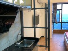 长虹金域 1室1厅1卫出租 全新装修 家电家具齐全 拎包入住