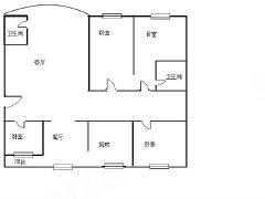 虹山片区盛世豪庭精装4房 2400元月140平预约看房